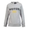 """Afbeelding van Fashion Longsleeve """"Motor Girl"""", grijs gemêleerd"""