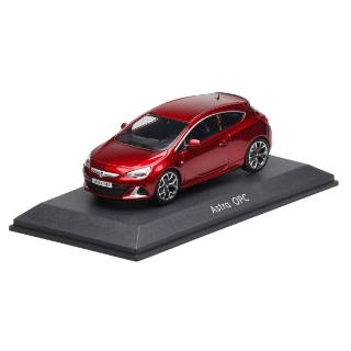 Picture of Opel Astra GTC OPC 1:43, red