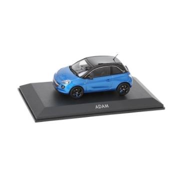 Bild von Opel Adam 1:43, arden blue / onyx black