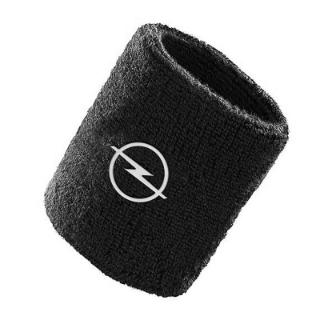 Afbeelding van Zweetpolsband, zwart