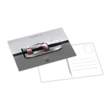 Bild von Postkarte, Elektro GT