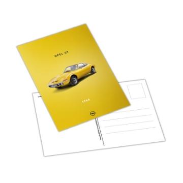 Image de Carte postale, Opel GT