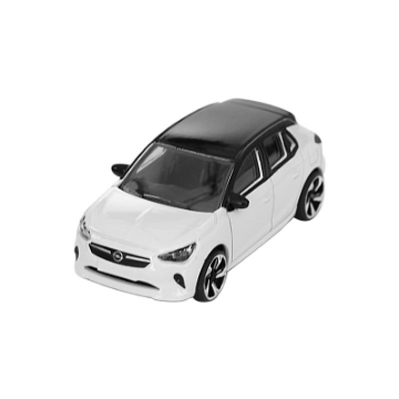 Picture of Corsa toy car white/ black