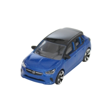 Image de Voiture miniature Corsa bleu voltaïque/noir