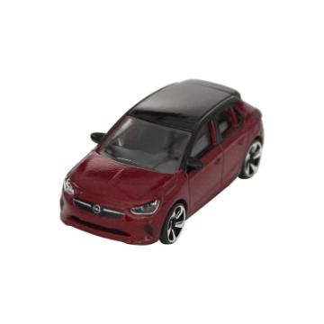 Image de Voiture miniature Corsa, rouge chili/noir